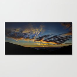 Sunrise at the Wolf Canvas Print
