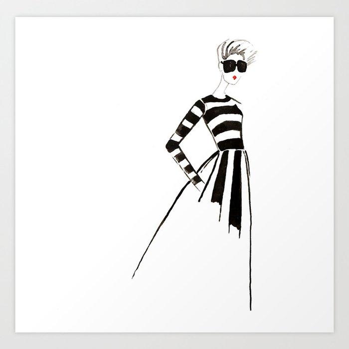 Hello, Miss Valentino! Art Print