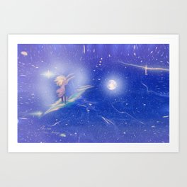 DREAMING OF THE UNIVERSE Art Print