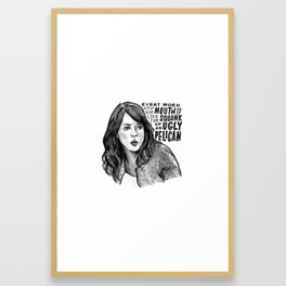 Erin | Office Framed Art Print