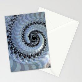 Fractal Spiral Elegance Stationery Cards