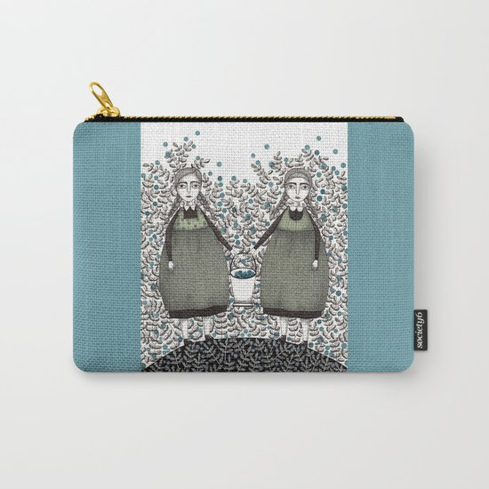 Blueberry Pickers Carry-All Pouch