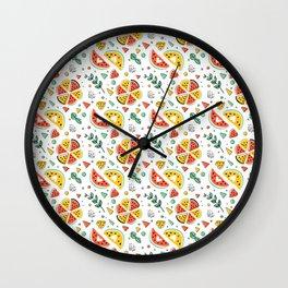 Watermelons Pattern Wall Clock