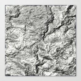 bump abstract Canvas Print