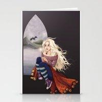 luna lovegood Stationery Cards featuring Luna Lovegood by Laure Lilyvale