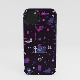 """Bad cats """"nightcall"""" edition iPhone Case"""