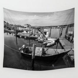 Boats of Menemsha Wall Tapestry
