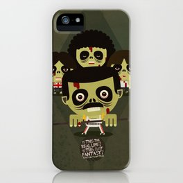 queen zombies iPhone Case