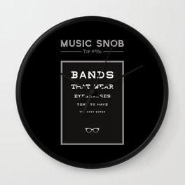 LEGALLY Fourth Eye Blind — Music Snob Tip #20/20-ish Wall Clock