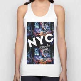 NEW-YORK (LIBERTEE CITY) Unisex Tank Top