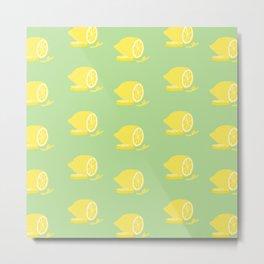 Big Lemon Flavor Metal Print