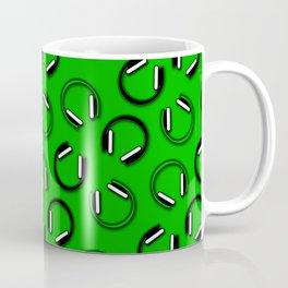 Headphones-Green Coffee Mug