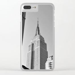 New York Landmark Clear iPhone Case