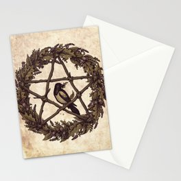 Botanical Pentacle: Wild Witch Stationery Cards