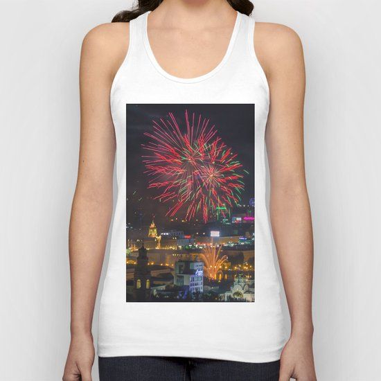 Firework collection 2 Unisex Tank Top