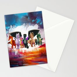Wings Of fire Light Squad dragon Stationery Cards