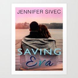 Saving Eva (by Brenda Gonet) Art Print