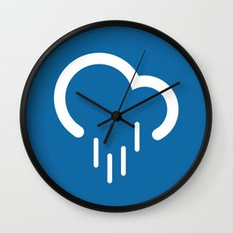 Downpour - Better Weather Wall Clock