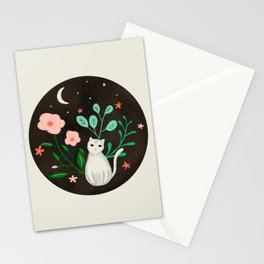 Luna the Cat Stationery Cards