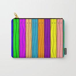 Rainbow Fence Carry-All Pouch