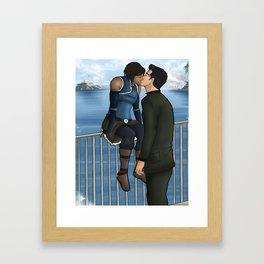 Makorra - Rooftop Framed Art Print