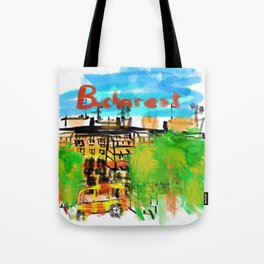 bucharest Tote Bag