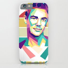 Grant Gustin wpap iPhone Case