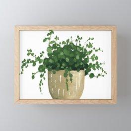 House Plant IV Framed Mini Art Print