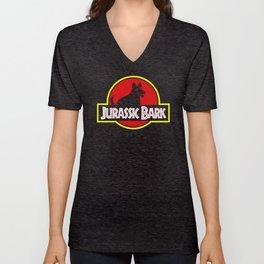 Jurassic Bark Unisex V-Neck