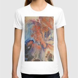 Abstract Overview Effect T-shirt