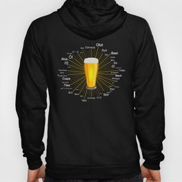 """Beer"" in 45 different languages Hoody"