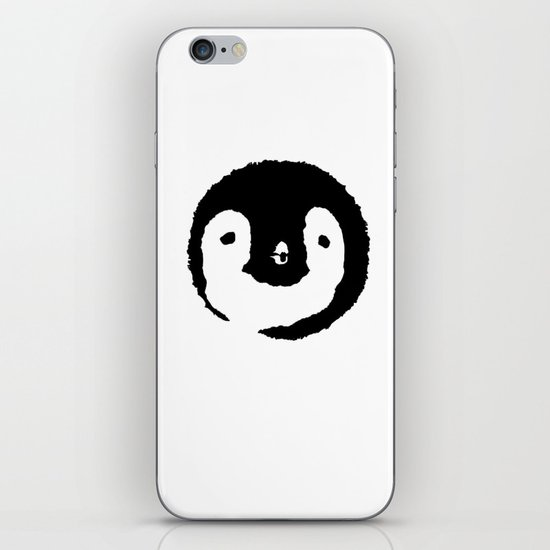Baby Penguin Face iPhone Skin