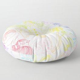 Rainbows Penelope Floor Pillow
