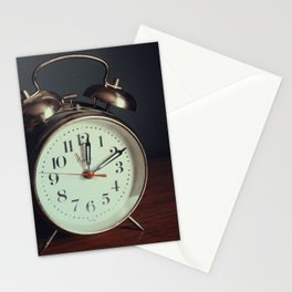 Ticking Clock Stationery Cards