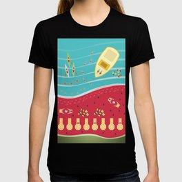 Summer Fun at the Watermelon Beach T-shirt