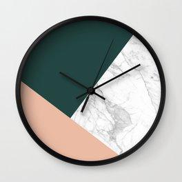 Stylish Marble Wall Clock