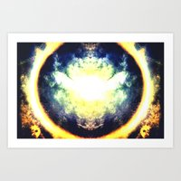 halo Art Prints featuring HALO by Chrisb Marquez