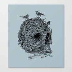 Skull Nest Canvas Print