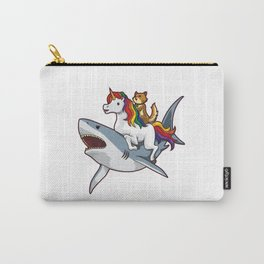 Shark Unicorn Cat - Awesome Friendship Carry-All Pouch