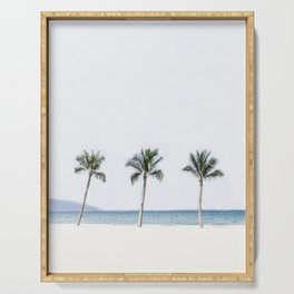 Palm trees 6 Serving Tray