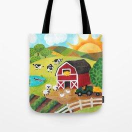 Daybreak on the Farm Tote Bag