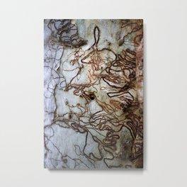 Bark Highway Metal Print