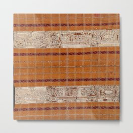 Tapis Lampong South Sumatra Indonesian Wrap for Woman Print Metal Print