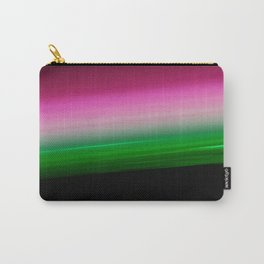 Pink Green Ombre Carry-All Pouch