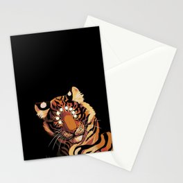 Do Not Give In to Despair (orange burn) Stationery Cards