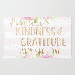 Kindness & Gratitude Rug