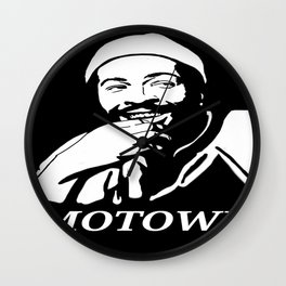 "Marvin Gaye ""Prince of Motown"" Wall Clock"