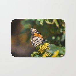 Peaceful butterfly Bath Mat