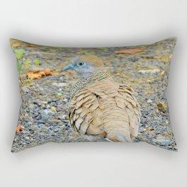 Zebra Dove Rectangular Pillow