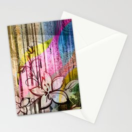 Paisleys Floral Stationery Cards